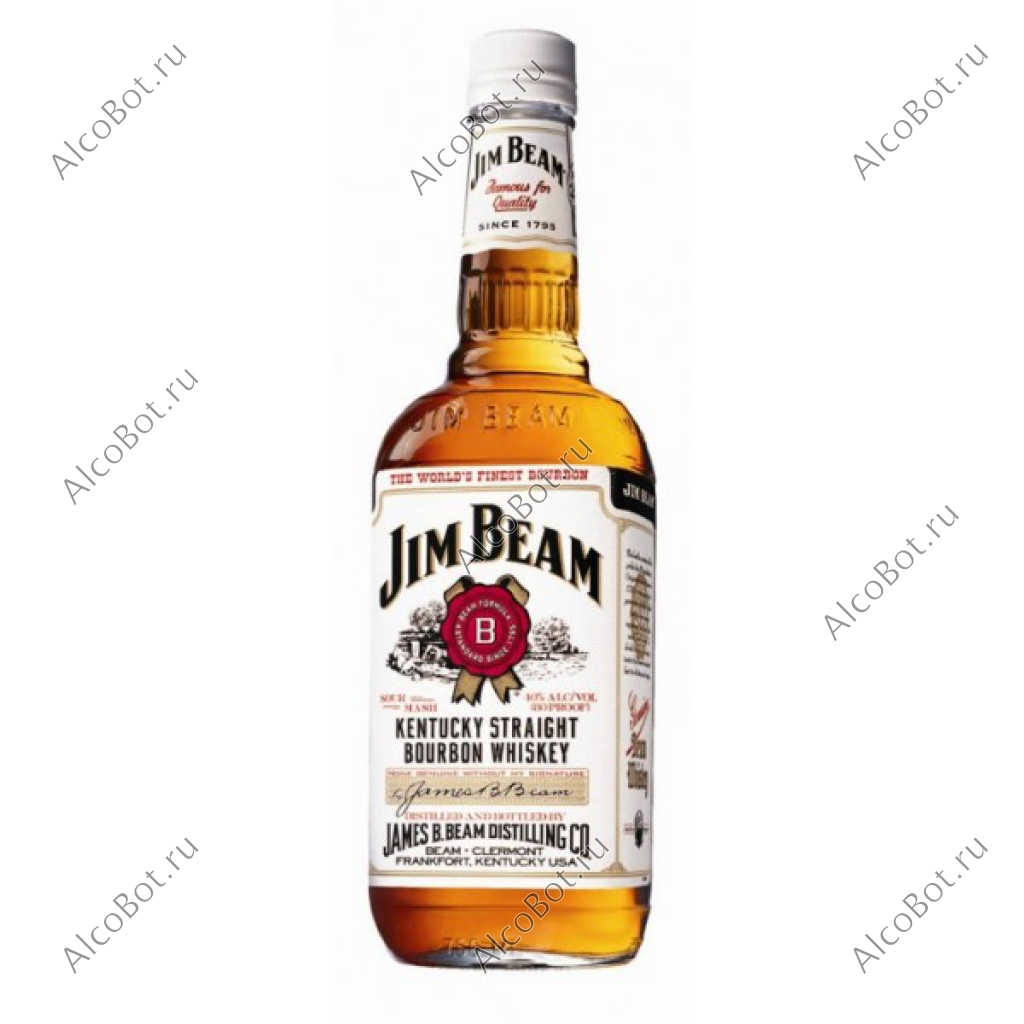 Виски JIM BEAM WHITE 1L
